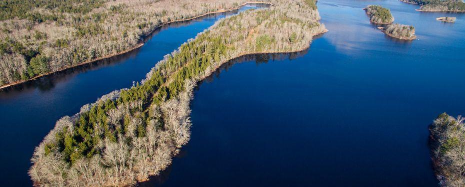 Halbinsel Wentworth Lake