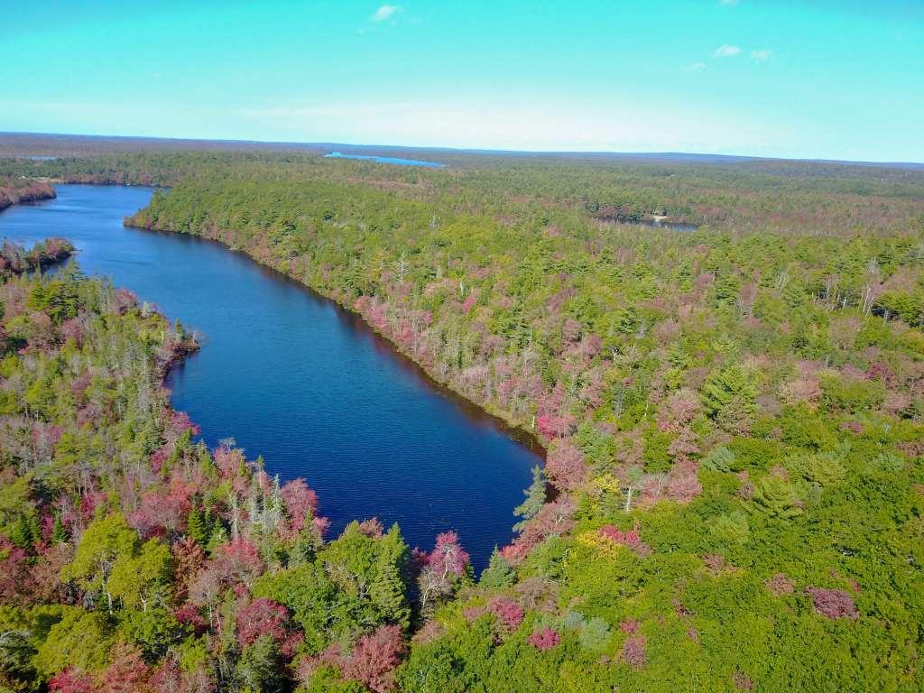 Franks Lake ist ein sogenannter Clear Water Lake
